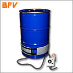 Drum-heaters for 25, 30, 50 and 100 litres