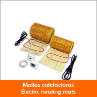 Suelo radiante el ctrico con mallas calefactoras - Suelo radiante electrico ...